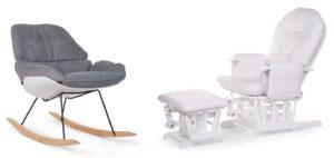 Stillstuhl und Lounge Stuehle